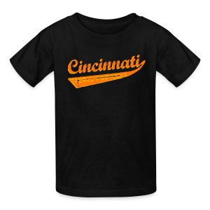 Kids' T-Shirt - Kids Sizes. Who dey! Carson Palmer is outta here and your Cincinnati Bengals are playoff bound! You might think Mike Brown may sucks, but this funny Cincinnati tackle football shirt certainly doesn't! Available in several colors, sizes, and styles, including babies and even dogs! Cincinnati is not only a kick ass city, it's the home town of Flying Pigs, Alternative Motive and the Cincinnati Bengals.