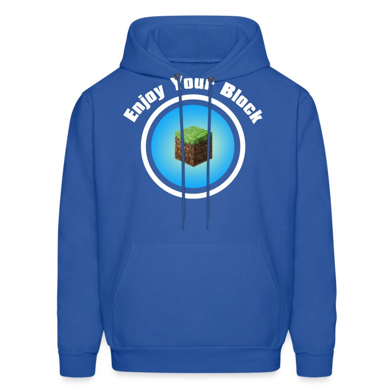 Enjoy Your Block - Men's Hoodie - Men's Hoodie