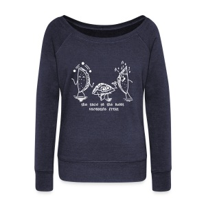 Unisex Taco Sweat 2 - Women's Wideneck Sweatshirt