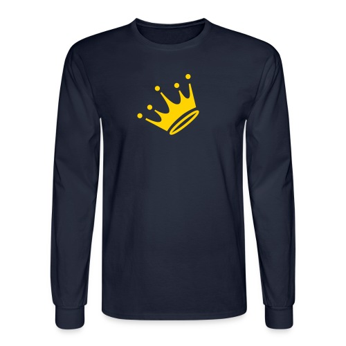 King Long Sleeve Shirt Dark - Men's Long Sleeve T-Shirt