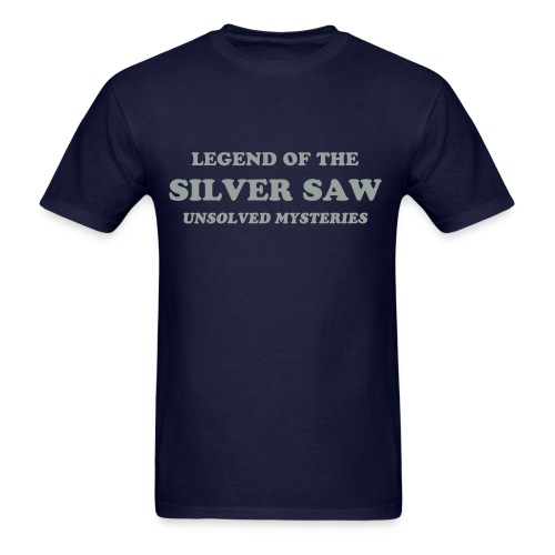 Silver Saw - Men's T-Shirt