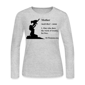 Mother - Women's Long Sleeve Jersey T-Shirt
