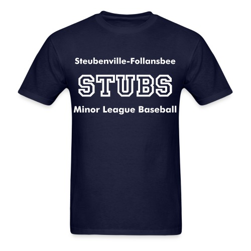 Stubs Minor League Baseball - Men's T-Shirt