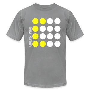 Men's Fine Jersey T-Shirt - Is the West Side really the best side? Every city seems to have an eastside vs. westside thing going on. East Coast vs. West Coast. Show that pride with this design!