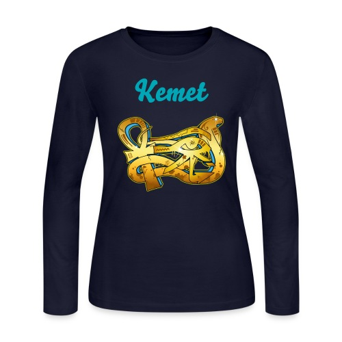 Kemet Long Sleeve T-Shirt - Women's Long Sleeve Jersey T-Shirt
