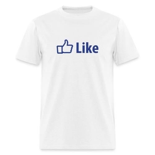 FB Like - Men's T-Shirt