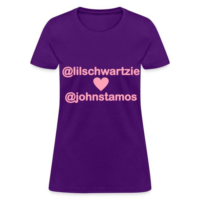 @lilschwartzie heart @johnstamos