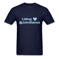 T-Shirts ~ Men's T-Shirt ~ Lisbug heart @johnstamos - Men's T