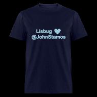 T-Shirts ~ Men's T-Shirt ~ Lisbug heart @johnstamos - Men's T