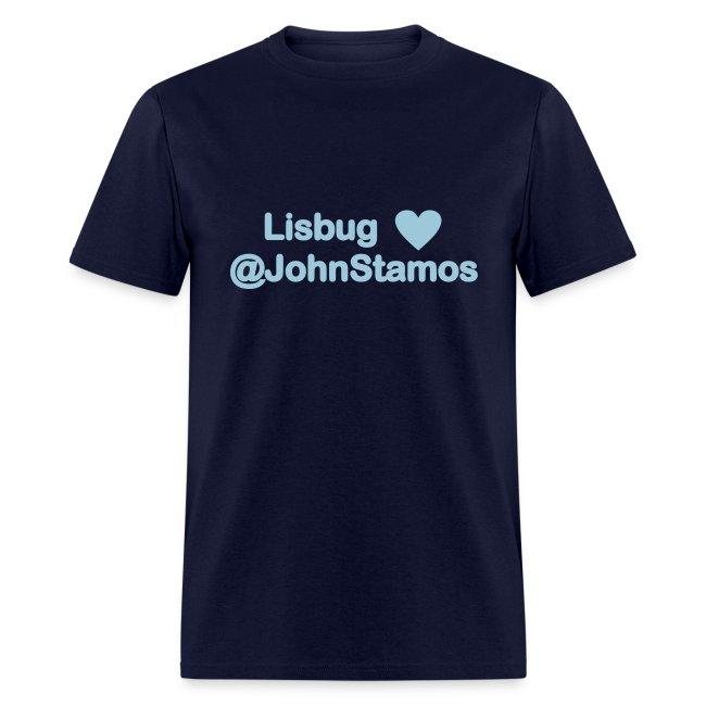 Lisbug heart @johnstamos - Men's T