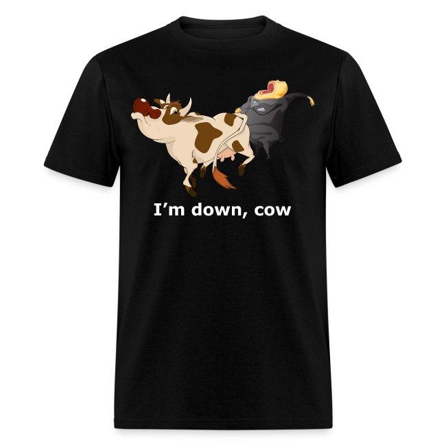 I'm down, cow - Dark