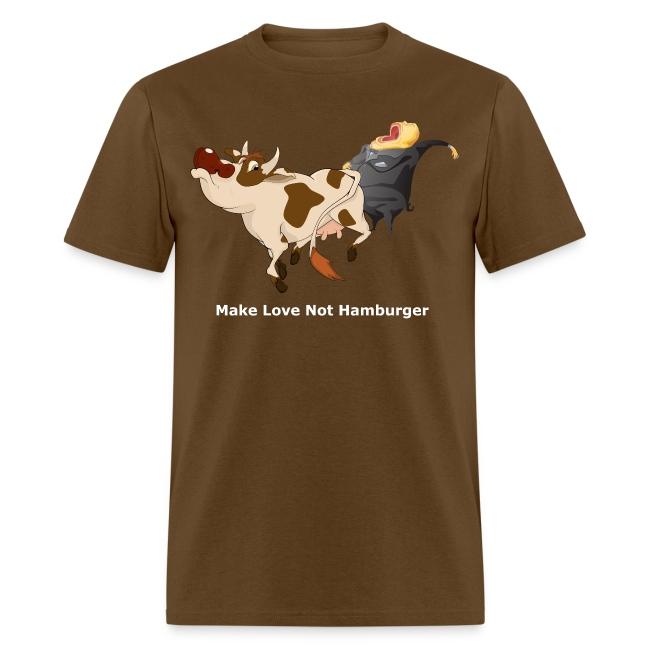 Make Love Not Hamburger - Dark T