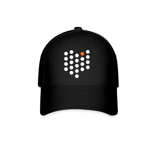 Baseball Cap - Cleveland, OH themed abstract dot design from City State Tees. 2 color front print design. Choose your own hat color!