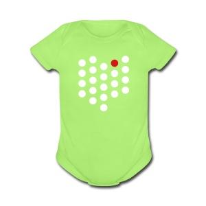Cleveland, OH - Baby - Short Sleeve Baby Bodysuit
