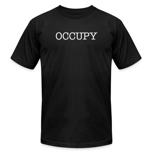 OCCUPY YOUR BRAIN - Men's Fine Jersey T-Shirt