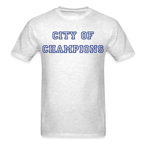 City of Champions!! - Men's T-Shirt