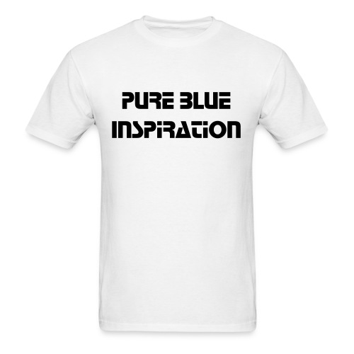 Pure Blue Inspiration Tee - Men's T-Shirt