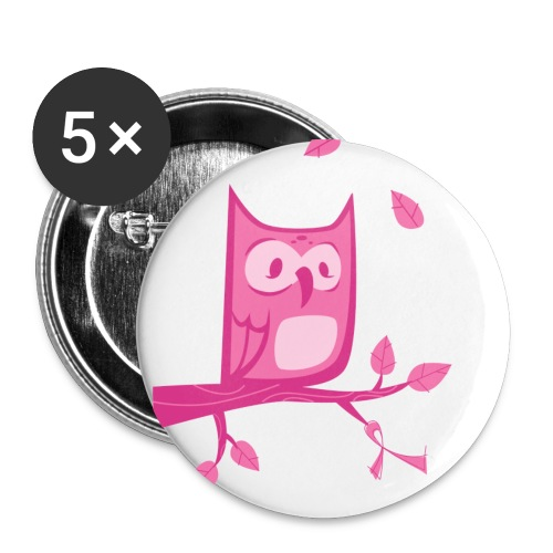 Hooter for A Cure - Buttons - Large Buttons