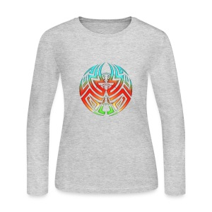 Womens long sleeve TriColor - Women's Long Sleeve Jersey T-Shirt