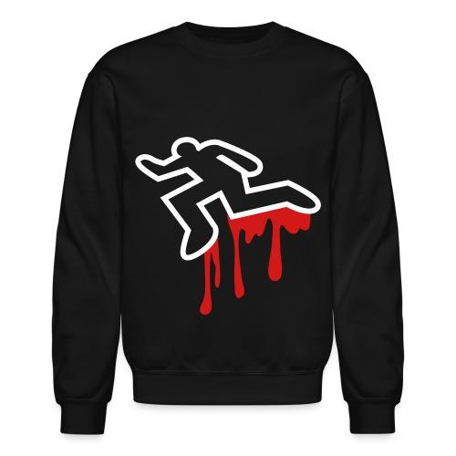 pkc outline red sweatshirt  - Crewneck Sweatshirt