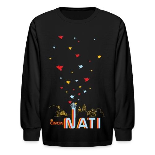 CincinNATI - Kids - Kids' Long Sleeve T-Shirt