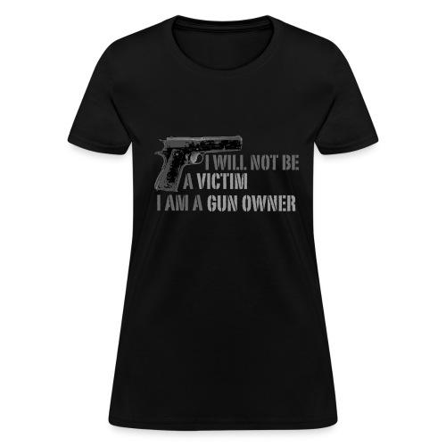 Gun owner ladies shirt - Women's T-Shirt