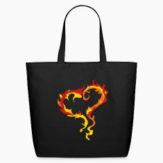 Heart of Flames Bags