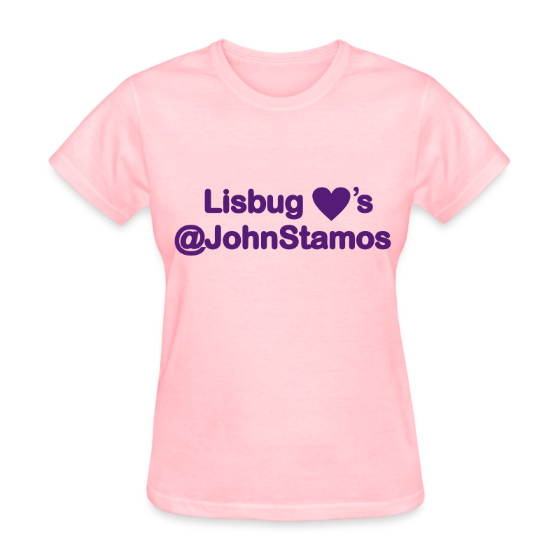 Lisbug Heart's @JohnStamos - Women's T-Shirt