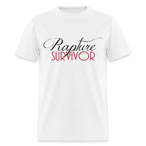 Rapture Survivor for guys. - Men's T-Shirt