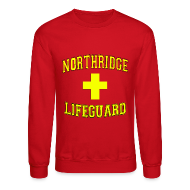 Long Sleeve Shirts ~ Men's Crewneck Sweatshirt ~ NORTHRIDGE GUARD Sweater