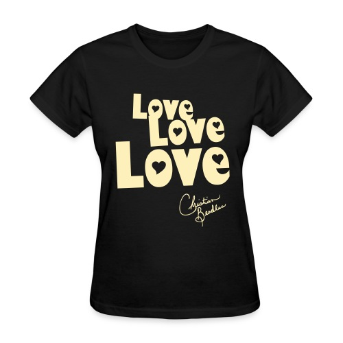 LOVE LOVE LOVE - Women's T-Shirt