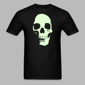 Skull Glow-in-the-Dark - Men's T-Shirt