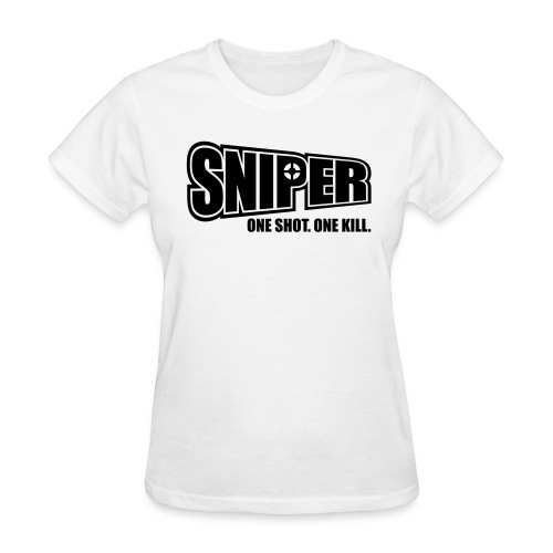One Shot One Kill, Women [RG] - Women's T-Shirt