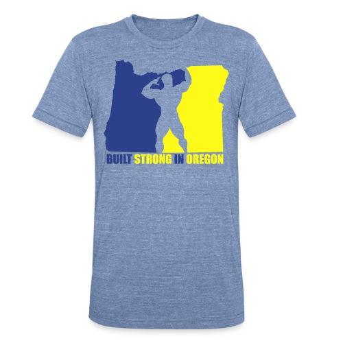 oregon_strong_male - Unisex Tri-Blend T-Shirt