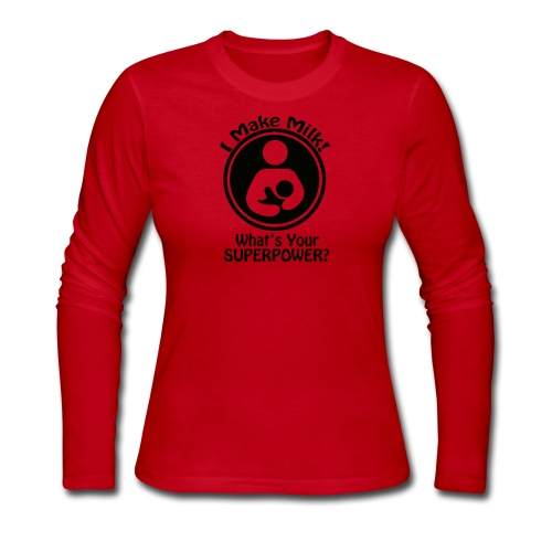 What's Your Superpower? - Women's Long Sleeve Jersey T-Shirt