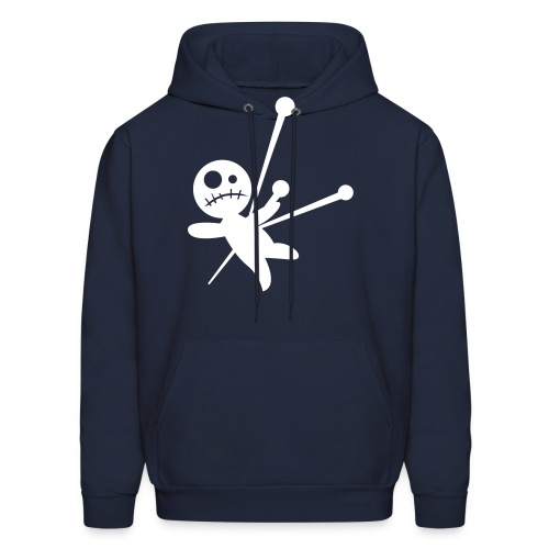 G.J. blue voo doo hoodie - Men's Hoodie