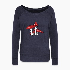Amanita muscaria Long Sleeve Shirts