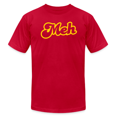 meh in type cool! T-Shirts