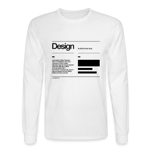 ABshapes in a disc Sweat - Men's Long Sleeve T-Shirt