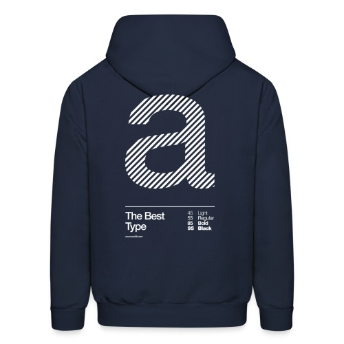 The Best Type SW - Men's Hoodie