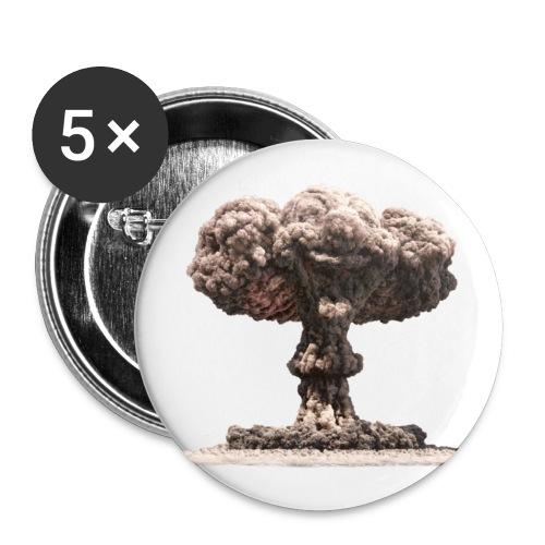 mushroom cloud pin - Small Buttons