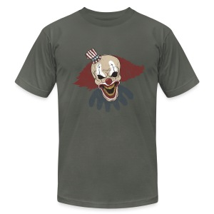 Scary Circus Clown - Men's T-Shirt by American Apparel