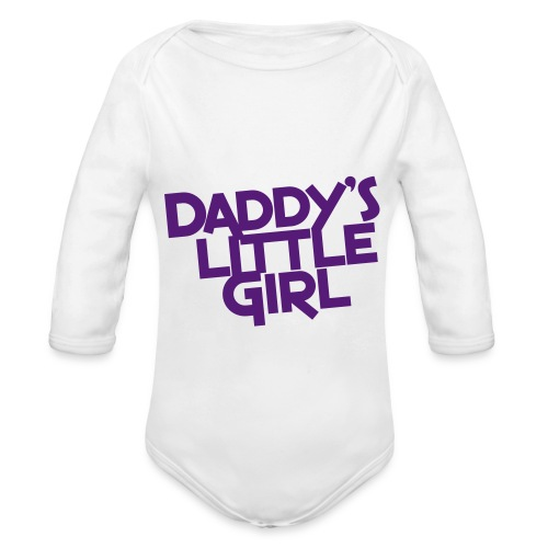 Daddys favorite - Organic Long Sleeve Baby Bodysuit