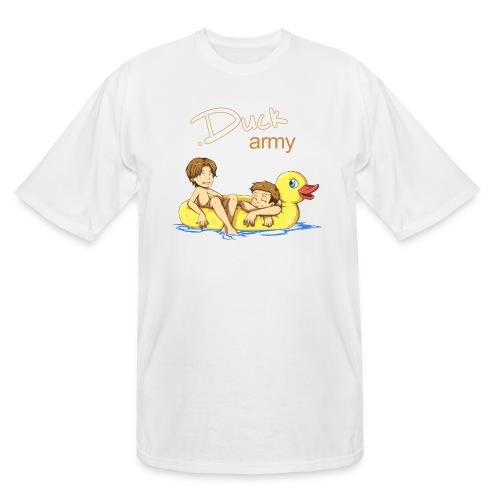 Duck Army (DESIGN BY HUDA) - Men's Tall T-Shirt