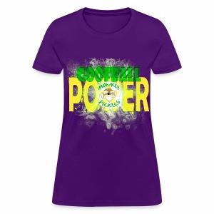 Monkey Pickles Goofball Power - Women's T-Shirt