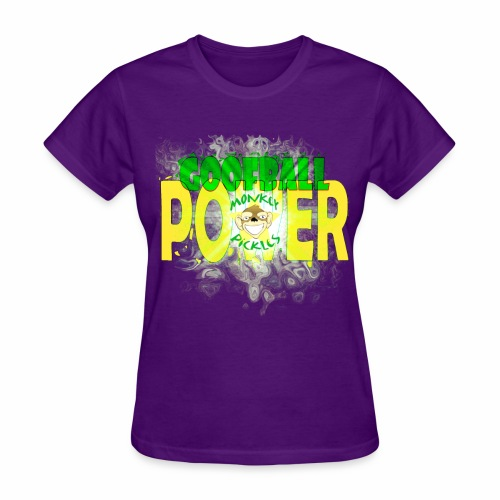 Monkey Pickles Goofball Power - Women's T-Shirt