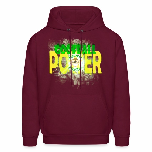 Monkey Pickles Goofball Power - Men's Hoodie