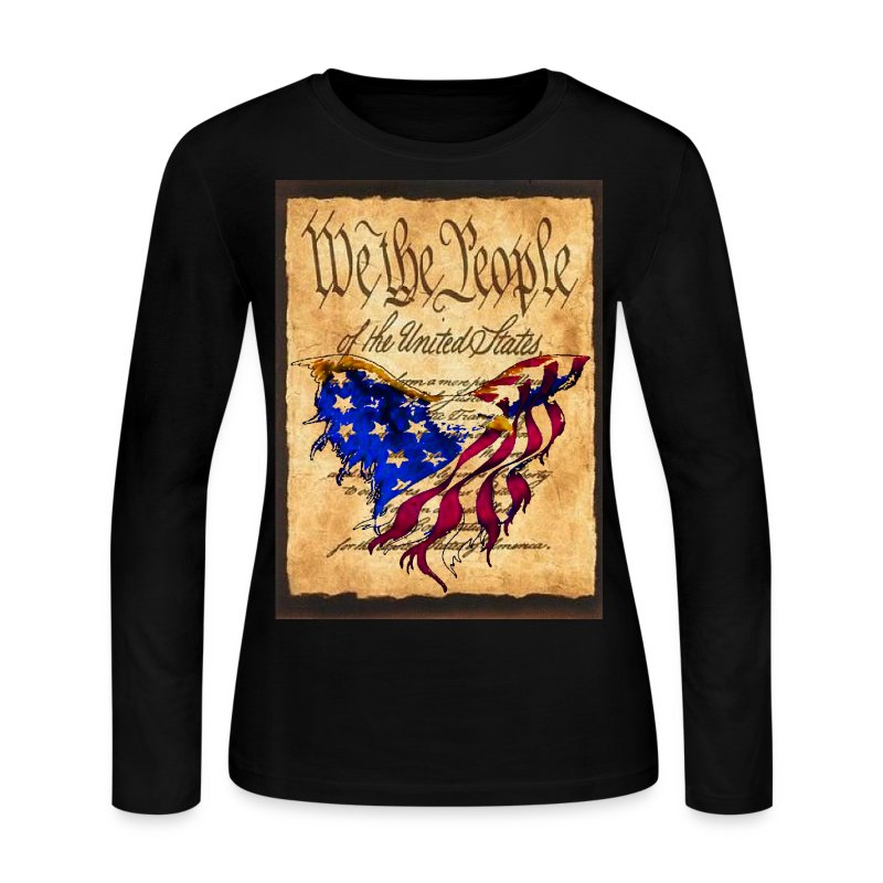 We The People American Eagle Flag Short Sleeve Woman's ...