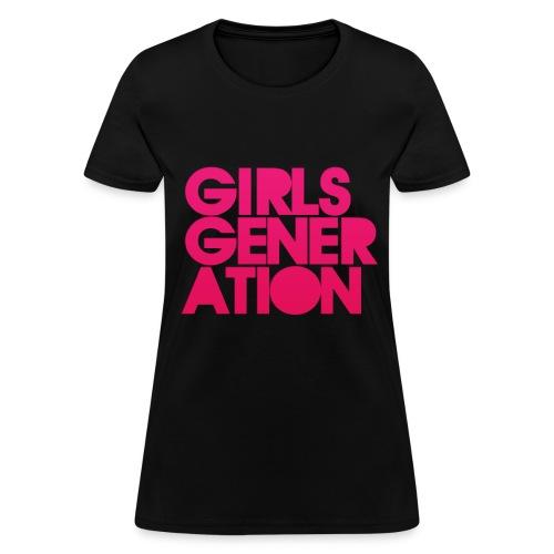 Girls' Generation - Logo - Women's T-Shirt