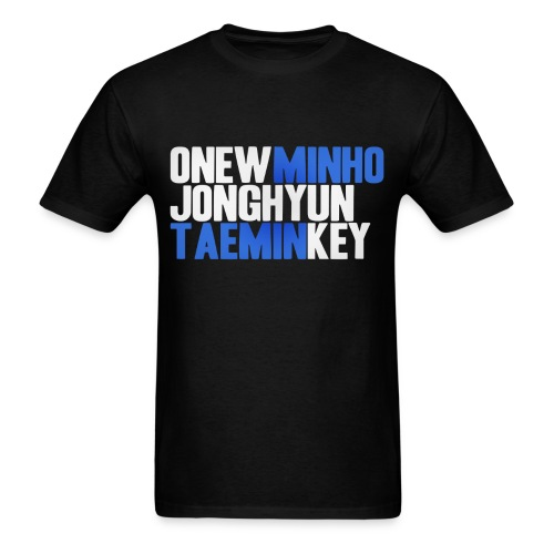 SHINee - Names - Men's T-Shirt